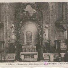 Postales: MONASTIR DE RIPOLL. ALTAR MAJOR ABANS DEL 18 DE JULIOL DE 1936. GUERRA CIVIL ESPAÑOLA. ROISIN. Lote 6095273