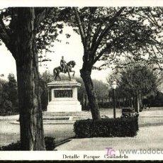 Postales: BARCELONA. DETALLE PARQUE CIUDADELA.. Lote 6189288