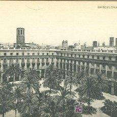 Postales: BARCELONA. PLAZA REAL.. Lote 6197234