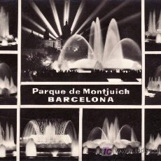 Postales: BARCELONA.PARQUE DE MONTJUICH.. Lote 22863605
