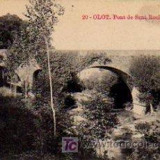 Postales: OLOT. PONT DE SANT ROCH. (ED. J. ANTIGA). . Lote 6267864