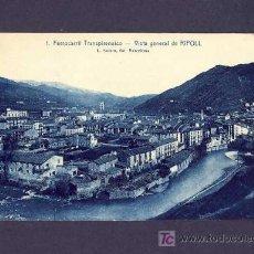 Postales: POSTAL DE RIPOLL (GIRONA): VISTA GENERAL DE RIPOLL (ROISIN NUM.1). Lote 6450101