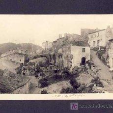 Postales: FOTO DE TOSSA DE MAR (GIRONA): LA VILA VELLA EL 1926. Lote 6452546