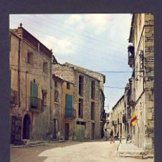 Postales: POSTAL D' ALMATRET (LLEIDA): CARRER MAJOR. Lote 6474351