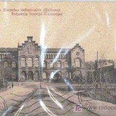 Postales: ESCUELAS INDUSTRIALES TERRASSA TALLERES. Lote 17051350