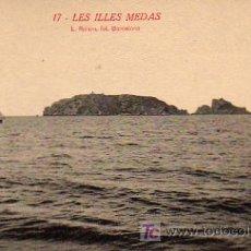 Postales: POSTAL DE TORROELLA DE MONTGRI, Nº17, LES ILLES MEDAS. Lote 6572706