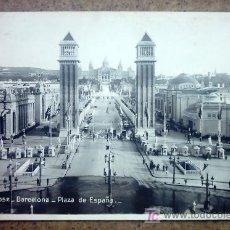 Postales: 1052 - BARCELONA - PLAZA DE ESPAÑA - VER FOTO ADICIONAL. Lote 22397667