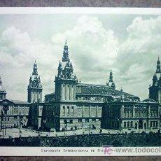 Postales: EXPOSICIÓN INTERNACIONAL DE BARCELONA - PALACIO NACIONAL (FACHADA SUR) .. Lote 23869402