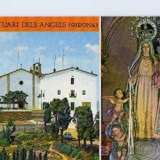 Postales: POSTAL SANTUARI DELS ANGELS GIRONA. Lote 6743924