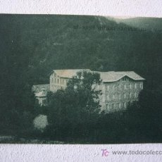 Postales: POSTAL DE SANT HILARI SACALM -17- HOTEL MARTIN (CIRCULADA 1928). Lote 19754378