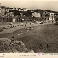 Postales: CALELLA DE PALAFRUGELL-GIRONA. Lote 10698895