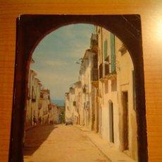 Postales: POSTAL COSTA DORADA. TARRAGONA ALTAFULLA CALLE JOSE ANTONIO. Lote 16462062
