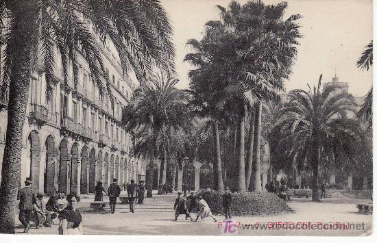 BARCELONA.PLAZA REAL. CIRCULADA 1916 - VER FOTO ADICIONAL.MAS COLECCIONISMO EN RASTRILLOPORTOBELLO (Postales - España - Cataluña Antigua (hasta 1939))