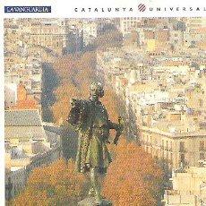 Postales: Nº 1 - LES RAMBLES DE BARCELONA *** LA VANGUARDIA *** SIN CIRCULAR. Lote 7125045