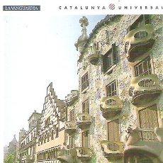 Postales: N º 1 - BARCELONA *** EDIFICIOS DE LA MANZANA DE LA DISCORDIA *** SIN CIRCUAR , LA VANGUARDIA. Lote 7125192