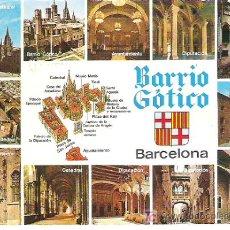 Postales: BARCELONA BARRIO GOTICO - EN EDI CYP ** CIRCULADA 1972. Lote 7125198