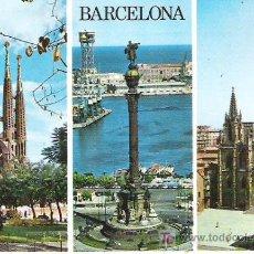 Postales: Nº 10- BARCELONA ***ECUDO DE ORO ESCRITA SIN CIRCULAR. Lote 7125235