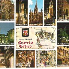 Postales: Nº 131 BARCELONA , BARRI GOTICO *** ESCUDO DE ORO *** SIN CIRCULAR. Lote 7125257