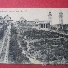 Postales: BARCELONA - CUMBRE DEL TIBIDABO . Lote 7149515
