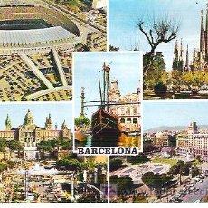 Postales: Nº 79 BARCELONA *** CF BARCELONA - SGDA FAMILIA *** FABREGAT NO CIRCULADA. Lote 7233312