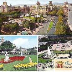 Postales: Nº 0192 BARCELONA - PLAZA CATALUÑA ***CYP. Lote 7233356