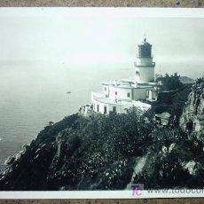 Postales: PALAFRUGELL FARO DE SAN SEBASTIAN. Lote 26405303
