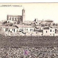 Postales: POSTAL DE PLA DEL LLOBREGAT Nº87, CORNELLA, ENSENYANSA CATALANA. Lote 7282910