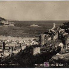 Postales: TOSSA DE MAR-GIRONA. Lote 11632276