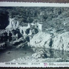 Postales: COSTA BRAVA PALAFRUGELL AIGUA XALIDA. Lote 26383527