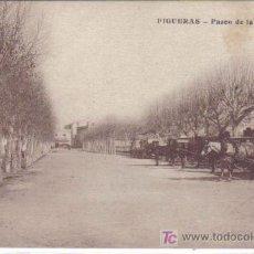 Postales: FIGUERES - PASEO DE LA ESTACIÓN. Lote 22389408