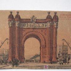Postales: BARCELONA - ARCO DEL TRIUNFO. Lote 7516579