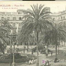 Postales: BARCELONA. PLAZA REAL.. Lote 7550869