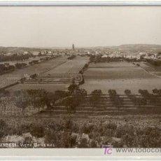 Postales: (PS-5035)POSTAL FOTOGRAFICA DE GANDESA(TARRAGONA)-VISTA GENERAL. Lote 7610855