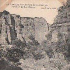 Postales: POSTAL DE ENSENYANSA CATALANA Nº236, S. ESTEVE DE CASTELLAR, TORRENT DE BALLEROSA. Lote 7622603