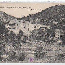 Postales: POSTAL DE ENSENYANSA CATALANA Nº309, CASTELLAR, CAN CAÑELAS. Lote 7623723