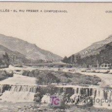 Postales: POSTAL DE ENSENYANSA CATALANA Nº287, RIU FRESER A CAMPDEVANOL. Lote 7623950