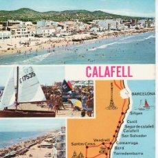 Postales: CALAFELL. COSTA DORADA. TARRAGONA, NO CIRCULADA. . Lote 7747680