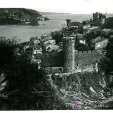 Postales: TOSA DE MAR - CLIXES JORDI VIDAL - CIRCULADA 1951. Lote 25194846