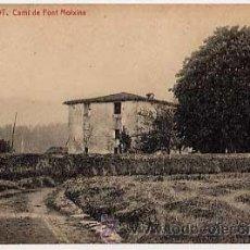 Postales: GIRONA. OLOT. CAMI DE FONT MOIXINA. FOTOTIPIA THOMAS. SIN CIRCULAR. Lote 8025165