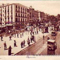 Postales: BARCELONA RAMBLAS POSTAL 22 DE L. ROISIN, CIRCULADA 1931 DE LA FORTUNADA (HUESCA) A SUIZA.. Lote 8028936