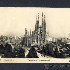 Postales: POSTAL DE BARCELONA: TEMPLE DE LA SAGRADA FAMILIA (ED.ORIOL NUM.132). Lote 8138412