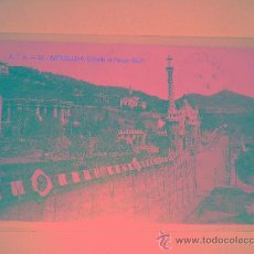 Postales: PARK GUELL BARCELONA. Lote 8154547