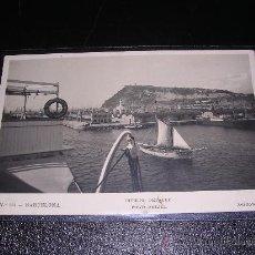 Postales: N.355-BARCELONA.PORT. DETALL.FOT. ZERKOWITZ-14X9 CM. . Lote 8215265