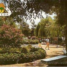 Postales: POSTAL PINEDA DE MAR JARDINES LAS MELIAS . Lote 8278535