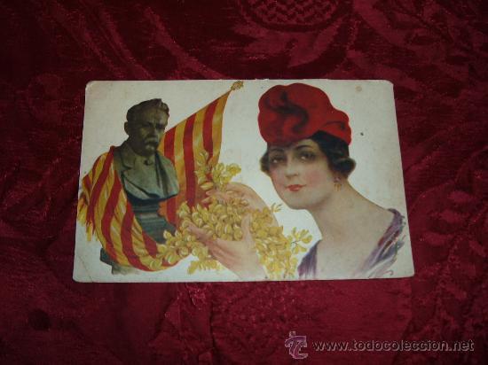 GLORIES CATALANAS J ANSELM CLAVE ,RECLAMGRAF ANDREU MIR (Postales - España - Cataluña Antigua (hasta 1939))