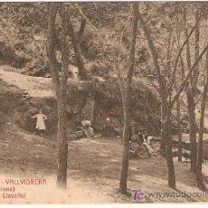 Postales: A.T.V.232 VALLVIDRERA-BARCELONA-FONT DE CAN LLAVALLOL-9 X 13,7 CMS- VELL I BELL. Lote 24402955