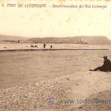 Postales - POSTAL PRAT DEL LLOBREGAT DESEMBOCADURA DEL RIO LLOBREGAT - 8471058