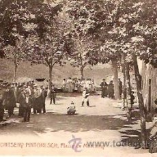 Postales: POSTAL A.T.V. MONTSENY PINTORESCH Nº 8 PLAÇA DE MONTSENY. Lote 221892951