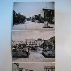 Postales: LOTE 3 FOTO POSTALES DE ANGLESOLA (LERIDA). Lote 8546552
