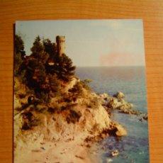 Postales: POSTAL LLORET DE MAR PLAYA DE SA CALETA CIRCULADA. Lote 8555031